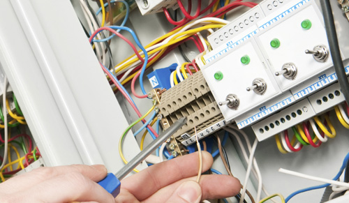 Electrical installations in homes, factories, shops, offices, etc ...